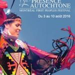 Bannière festival Présence Autochtone 2016