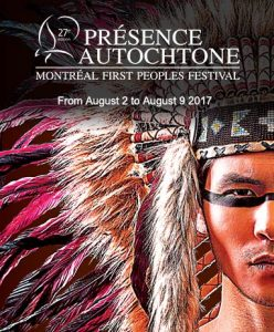 Banner Montreal First People Festival 2017