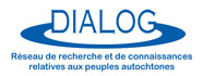 Logo - Dialog - Réseau de recherche et de connaissances relatives au peuple autochtone